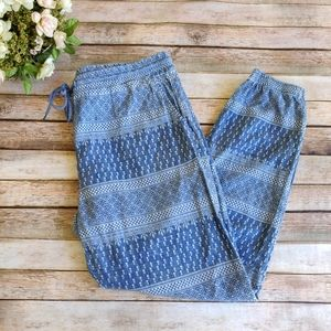 Anthropologie Level 99 Jackie Heritage Joggers